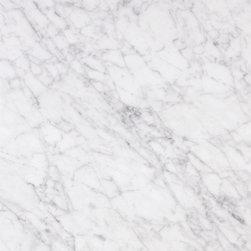 Bianco Carrara Marble, 18x18, Polished, 1 Piece(2.25 Square Feet Per Piece) - Sold per Piece - Each Piece 2.25 Square Feet