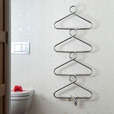 Contemporary Towel Bars And Hooks by Lisa Melvin Design