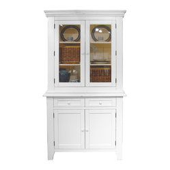 Trade Winds Furniture White Provence Buffet Cabinet