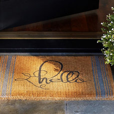 Contemporary Doormats by Pottery Barn