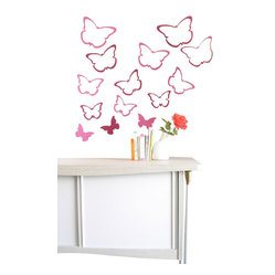 Wallter Butterfly Wall Applications