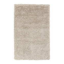Surya - Plush Savanah 2'x3' Rectangle White-Ivory Area Rug - The Savanah area rug Collection offers an affordable assortment of Plush stylings. Savanah features a blend of natural White-Ivory color. Handmade of 100% New Zealand Wool the Savanah Collection is an intriguing compliment to any decor.