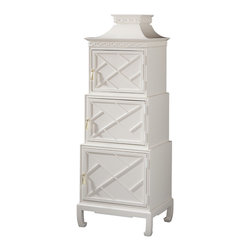 Isadora Etagere - I'm smitten with this Lilly Pulitzer etagere. The hardware is just the icing ...