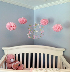 modern nursery decor by ButterflyOrbs