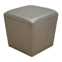 Demi Ryan - Demi Ryan 14 Ottoman - The Demi Ryan 14 Ottoman makes a beautiful and functional accessory when paired with a living room sofa.