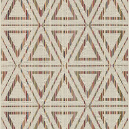 "Loloi Rugs - Loloi Rugs Ibiza Collection - Ivory / Multi, 5'-2"" x 7'-5"" - The Ibiza Collection is the ideal modern rug for indoor and outdoor spaces. Power loomed in Egypt of 100% polypropylene, these head-turning rugs include a full spectrum of colors that can't help but liven up your front porch, patio, or poolside deck. And with it's durable construction and fiber, Ibiza is a low maintenance rug for the indoors too."