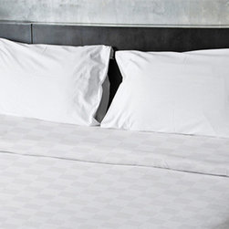 e by design - Paloma Twin Geometric Duvet Cover - - Decorate and personalize your home with duvet covers that embody color and style from e by design  - Closure: Concealed zipper  - Care Instructions: Spot clean recommended  - Made in USA e by design - DG-N16-Paloma-T