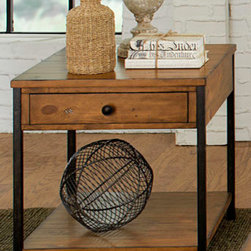Liberty Furniture - Urban Industrial End Table -