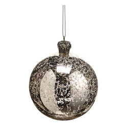 Silk Plants Direct - Silk Plants Direct Mercury Glass Ball Ornament (Pack of 12) - Silver - Pack of 12. Silk Plants Direct specializes in manufacturing, design and supply of the most life-like, premium quality artificial plants, trees, flowers, arrangements, topiaries and containers for home, office and commercial use. Our Mercury Glass Ball Ornament includes the following: