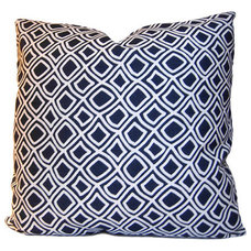 Trellis Decorative Pillow Modern and by StitchedNestings on Etsy