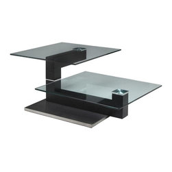 Pastel - 51.5 in. Rectangular Coffee Table - The Janice coffee table is a simple yet elegant design that can add that stylish and modern flair to your living area.