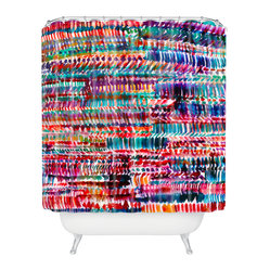 Amy Sia Rain 2 Shower Curtain