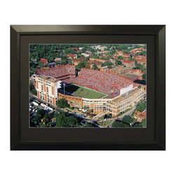 Frontgate - Framed Aerial College Stadium Images - Beaver Stadium (Penn State) - Our Framed Aerial Stadium Images make a great gift for the sports enthusiast. Choose from a large selection of college and professional stadiums, both current and classic. An excellent piece of sports memorabilia no matter who you root for. All pieces come with an engraved stadium name plate. Framed with elegant black wood.