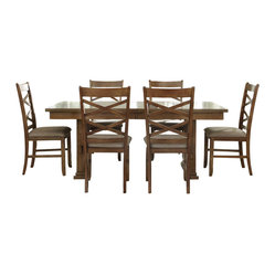 liberty furniture what 39 s included dining table 1 side chair 6