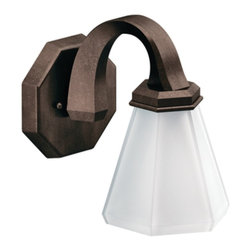 Moen - Moen YB9761ORB Felicity Single Globe Light Bath Fixture in Oil Rubbed Bronze - Moen YB9761ORB Felicity Single Globe Light Bath Fixture in Oil Rubbed BronzeThe Felicity collection makes a bold statement with sweeping horizontal lines and geometric forms. Felicity boasts a bold, modern feel that will enhance a refined decorating style.Moen YB9761ORB Felicity Single Globe Light Bath Fixture in Oil Rubbed Bronze, Features: