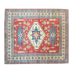 1800-Get-A-Rug - Oriental Rug Hand Knotted Rug Tribal Design Kazak Sh11562 - About Tribal & Geometric