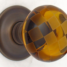 Eclectic Cabinet And Drawer Knobs by Merlin Glass