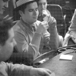 """Professional Gambler"" Artwork - Photographs were taken at belvedere billiard (benny's) in 1957. many of these are the diner guys. archival gicle?� prints (ink jet) have been made from the digitized negatives. only archival inks and papers are used. sizes may be printed according to requests."