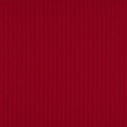 Red Two Toned Stripe Upholstery Fabric By The Yard - P3111 is great for residential, and commercial applications. This fabric will exceed at least 35,000 double rubs (15,000 is considered heavy duty), and is easy to clean and maintain.