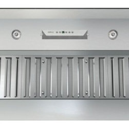 """Zephyr - Monsoon II Series AK9340AS 40"""" Cabinet Insert One Piece Liner with 1200 CFM Inte - Monsoon II comes packed with more features and technology that you can expect from a high quality and high performing one-piece liner It features a powerful 1200 CFM internal blower and 6 speed electronic controls for convenient operation Additionall..."""