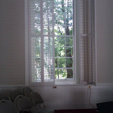 Traditional Window Blinds by New England Shutter Mills