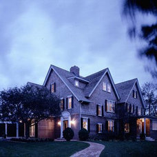 Traditional Exterior by CWB Architects