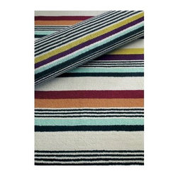 Missoni Home - Ken Bath Mat by Missoni Home - A bold design in muted colors, the Missoni Home Ken Bath Mat features the signature look of Missoni fabrics created for the home. A companion to the Ken Bath Collection, the Ken Bath Mat adds a punch of color to the contemporary bathroom while remaining surprisingly subtle. Machine washable.Missoni Home collection features a range of products from high-end home linens and rugs to furnishing, accessories and lighting. Missoni Home's leading trends boast an exceptional and unique graphic approach to color and pattern designed to complement today's top fashion brands.The Missoni Home Ken Bath Mat is available with the following:Details:Made of 100% cotton Machine washableShipping:This item usually ships within 1-2 days.
