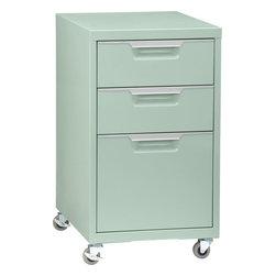 TPS mint 3-drawer filing cabinet -