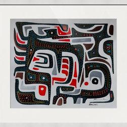 Kourosh Amini - Original Art Works By Kourosh Amini, Borneo - Artist: Kourosh Amini