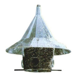 Arundale - 150 Mandarin  Wild Bird Feeder - Mandarin Feeder (New Arch Ports) The original Mandarin squirrel-proof bird feeder is famous for its dramatic good looks, squirrel-proof 17 in dome, and large capacity. Lifetime warranty.