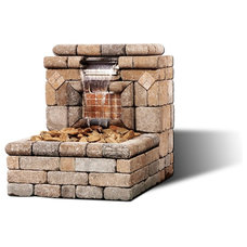 Modern Outdoor Fountains And Ponds Modern Outdoor Fountains