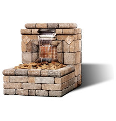 modern outdoor fountains by General Shale