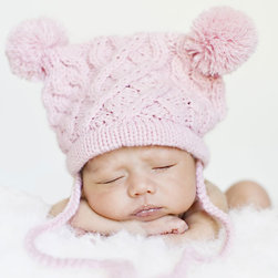 RR - My Lil Bear Hat in Pink - My Lil Bear Hat in Pink
