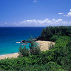 Murals Your Way - Kauai Beach (Stock Photos) Wall Art - This photograph of a Hawaiian beach can transform your ho-hum room into your own private getaway