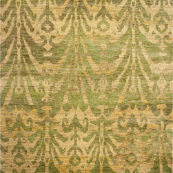 Safavieh - Safavieh Bohemian BOH631A, Green, Gold, 4'x6' Rug - Safavieh's Bohemian Collection is all-organic, with exquisitely fine jute pile woven onto a cotton warp and weft, and an earthy natural color palette. The high quality jute chosen for our Bohemian rugs is biodegradable and recyclable, with an innate sheen because it is harvested only from true hemp, a quickly renewable resource that excels in length, durability, anti-mildew and antimicrobial properties. Safavieh brings fashion excitement to the eco-friendly rug category with the Bohemian collection's unique patterns, ribbed textures and remarkable hand. The rugs are washed to soften the yarn, and then brushed to an even more lustrous sheen.