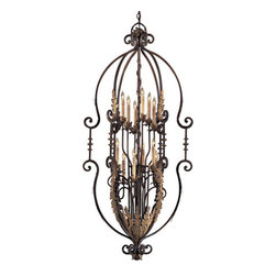 Metropolitan - Metropolitan N3644 12 Light 2 Tier Candle Style Chandelier Metropolitan - Twelve Light Two Tier Candle Style Chandelier from the Metropolitan Collection Features: