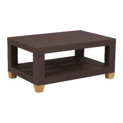 Ciera Wicker Rectangle Coffee Table - We also carry the