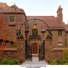 Mediterranean Entry by E. B. Mahoney Builders, Inc.