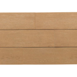 Terreno in Teak - Terreno realistically parlays the character of wood, embodied in a sleek porcelain tile.