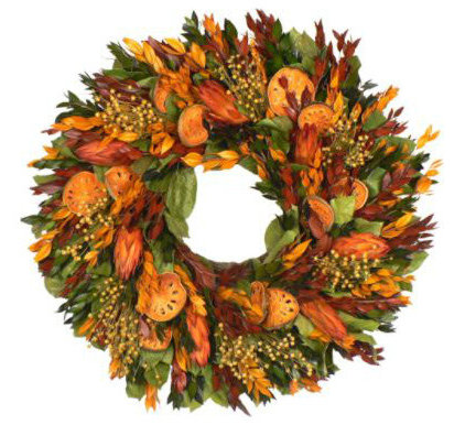 Traditional Wreaths And Garlands by FRONTGATE