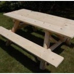 Moon Valley 6-inch Picnic Table Kit - 6' Picnic Table Kit
