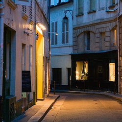 """Paris Street, Near the Rue Buci"" Artwork"