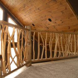 Twig Railing -