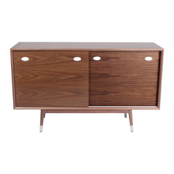 NyeKoncept - Niels Credenza - This sleek modern design will compliment any room that needs a little bit of contemporary touch. With the high storage capacity and the beautiful aesthetics, this piece of furniture accommodates any needs in terms of practicability and looks.