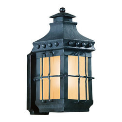 Troy-CSL Lighting - Troy-CSL Lighting BF8970NB Dover 1 Light Outdoor Wall Lights in Natural Bronze - Dover 1Lt Wall Lantern Fluores 1Lt Wall Lantern Fluorescent Small