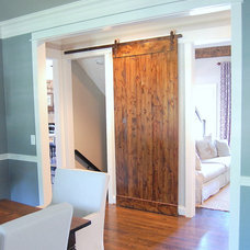 Eclectic Interior Doors Barn door