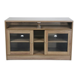 "Jesper - Jesper - Entertainment Collection - 47"" Tv Cabinet - Walnut - This high-performing Entertainment Collection is cleverly designed making it easy to create the ideal media space in a small corner or large airy space."