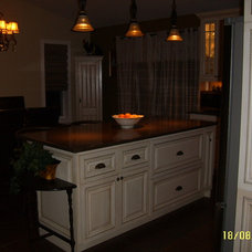 Contemporary Kitchen Islands And Kitchen Carts by O'Neil Cabinets (Direct Importer & Distributor)