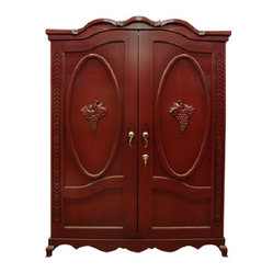 Vinotemp VINO-700LOUISNA Louis Napa 700 Model 400 Bottle Wine Cabinet - 7217The truly ...