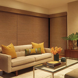 Custom Window Treatments - Windows Dressed Up Showroom in Northwest Denver, 38th on Tennyson (303.455.1009), offers the latest in roller blinds from leading suppliers such as Hunter Douglas. Designer Roller shades by Hunter Douglas. Photo Hunter Douglas.